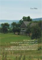 Okładka, Pozarolnicza działalność gospodarcza w indywidualnych gospodarstwach rolnych, Ewa Pałka,