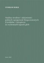 Okładka, Analiza struktur i aktywności polnych zgrupowań biegaczowatych (Carabidae, Coleoptera), Stanisław Huruk
