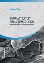 Okładka, Badania struktury pirolizowanych węgli w korelacji, Valentyna Zubkova