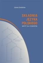 Okładka, Składnia języka polskiego. Skrypt dla studentów, Joanna Senderska