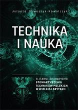 Okładka, Technika i Nauka – elitarne czasopismo Stowarzyszenia Techników Polskich, Jolanta Chwastyk-Kowalczyk