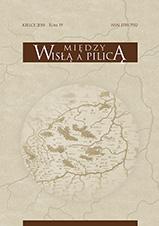 Okładka, Między Wisłą a Pilicą. Studia i materiały historyczne, t. 19, red. Jacek Pielas