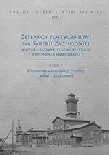 Okładka, Zesłańcy postyczniowi na Syberii Zachodniej, Anna Krich, Swietłana Mulina, Stanisław Wiech,