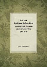 Okładka, Dziennik Stanisława Borkowskiego konserwatywnego ziemianina, Mariusz Nowak