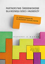 Okładka, Partnerstwo środowiskowe dla rozwoju dzieci, Barbara Skałbania, Mirosław Z. Babiarz red.,