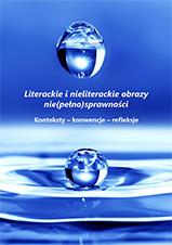 Okładka, Literackie i nieliterackie obraz nie(pełno)sprawności, Marta Bolińska red.