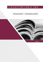 Okładka, Czasopiśmiennictwo przeszłość i teraźniejszość, t.2, Olga Dąbrowska-Cendrowska, Aleksandra Lubczyńska red.
