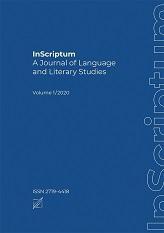 Okładka, InScriptum: A Journal of Language, V. 1/2020, edit. by Marina Dossena, Marzena Marczewska, Sylwester Łodej, John G. Newman
