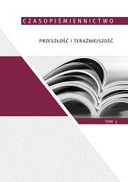 Okładka, Czasopiśmiennictwo przeszłość i teraźniejszość, t.3, Olga Dąbrowska-Cendrowska, Aleksandra Lubczyńska red.